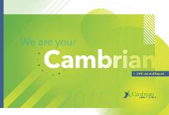 Cambrian Annual Report Cover 2015